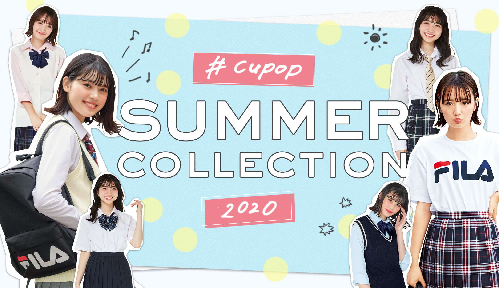 Cupop SUMMER COLLECTION